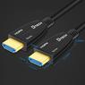 HDMI кабель оптический v2.0 4K HDR 60 метров Optical Fiber D-TECH