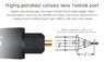 Toslink -  угловой оптический (SPDIF) кабель EMK 019-002